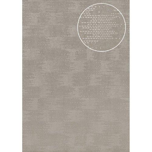 Atlas COL-499-0 Unicolour wallpaper shimmering grey 5.33 sqm