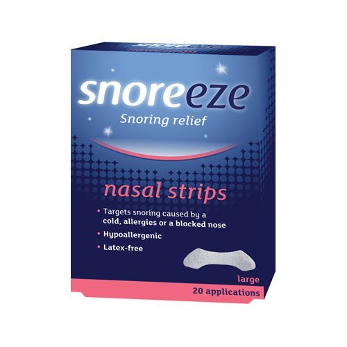 Snoreeze  Snoring Relief 20 Nasal Strips - Large 20s