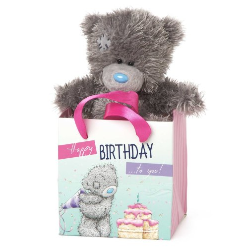 Me To You Tatty Teddy In A Happy Birthday Gift Bag On OnBuy