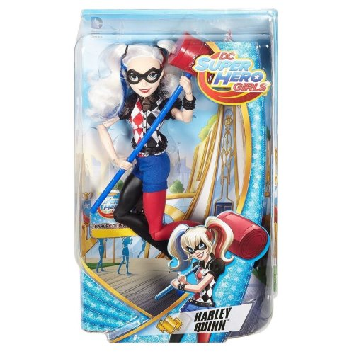 DC SuperHero Girls 12 inch Harley Quinn Action doll Toy