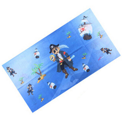 Versatile Sport Headwear/Headband/Hood Mask Neckerchief,Cartoon Blue