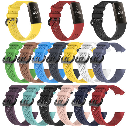 FitBit Charge 3 Silicone Small Wrist Strap - Various