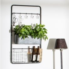 Granville Wall Crate   Metal Wall Storage