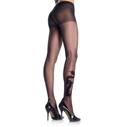 Dragon Tatoo Panty S/L Ladies Lingerie Stockings - Leg Avenue