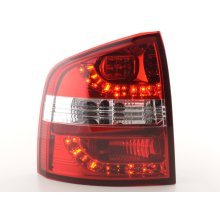Led Taillights Skoda Octavia Combi Typ 1Z Year 05- red/clear