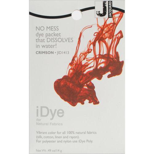 Jacquard iDye Fabric Dye 14g-Crimson