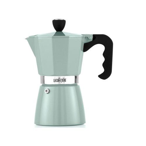La Cafetiere Classic Espresso Coffee Maker Percolator, 6-Cup -Pistachio