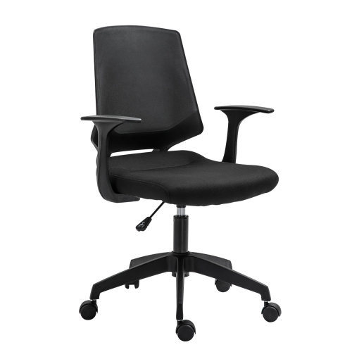 Vinsetto Ergonomic Home Office Chair Height Adjustable Task Seat 360° Swivel