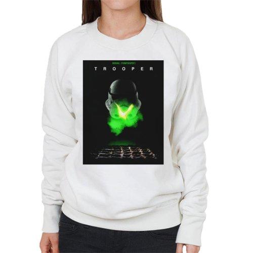 Original Stormtrooper Trooper Alien Parody For Light Women's Sweatshirt