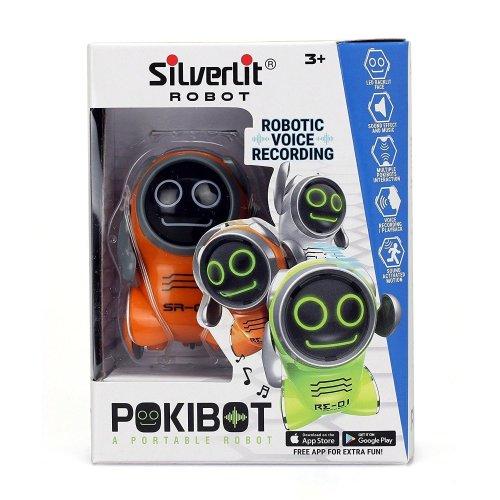 SilverLit 88529 Pokibot Pocket Mini Interactive Robot