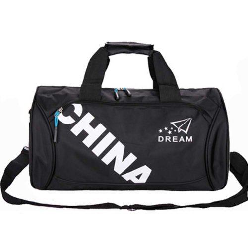 Classical Sports Bag Gym Duffel Bag Travel Luggage Bag for Sports, Gym, Vacation, A