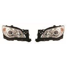 Subaru Impreza 2005-2007 Headlights Headlamps 1 Pair O/s & N/s