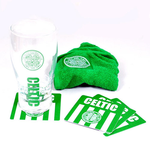 Celtic Wordmark Mini Bar Set -