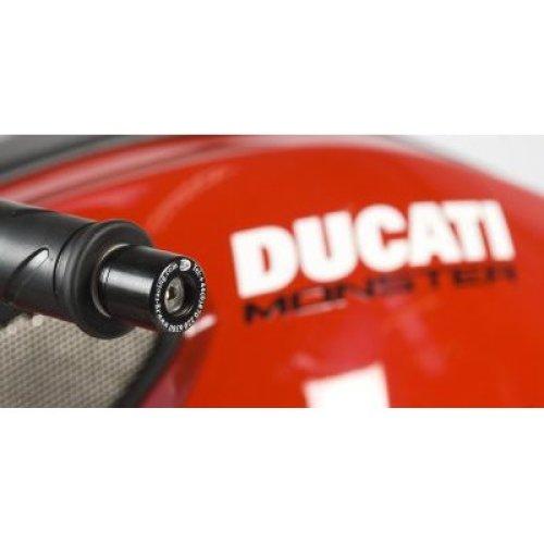 R&G Bar End Sliders for Ducati Monster 1100 2009 onward / Monster 795 / 796 / Streetfighter 848/1098