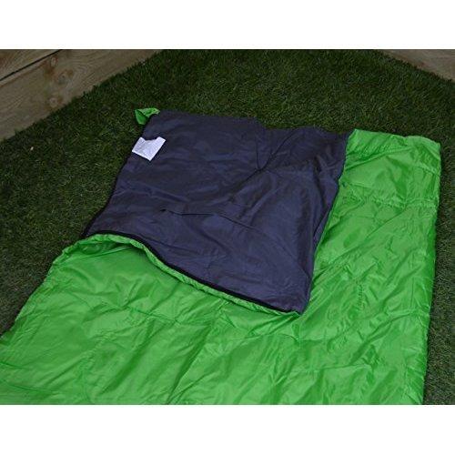 Summit Envelope Green Therma Sleeping Bag 250gsm Adult Camping -  summit envelope green therma sleeping bag 250gsm adult camping
