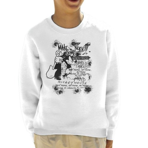 Disney Mickey Mouse Band Make Some Noise Kid's Sweatshirt