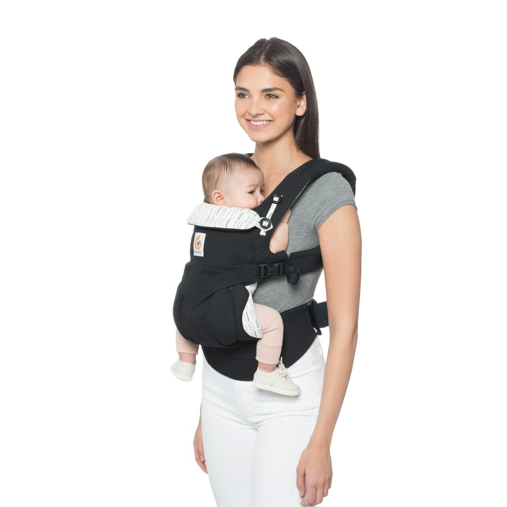Ergobaby Baby Carrier For Newborn To Toddler 4 Position Omni 360 Downtown Front Back Baby Carrier Front Facing Child Backpack Carrier