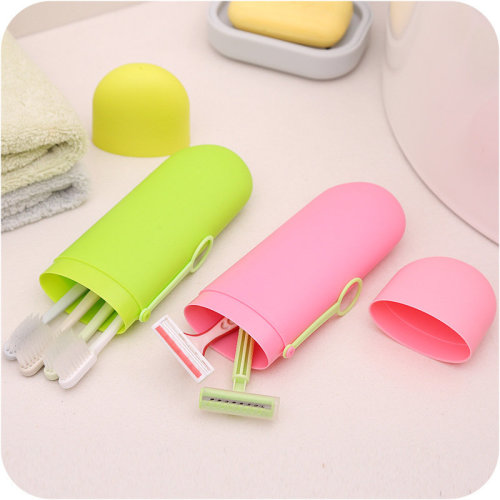 Travel Toothbrush Case Portable Toothpaste Storage Box