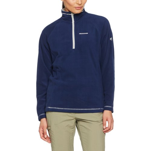 Craghoppers Lightweight Seline Women's Outdoor Fleece Jacket available in Night Blue - Size 14