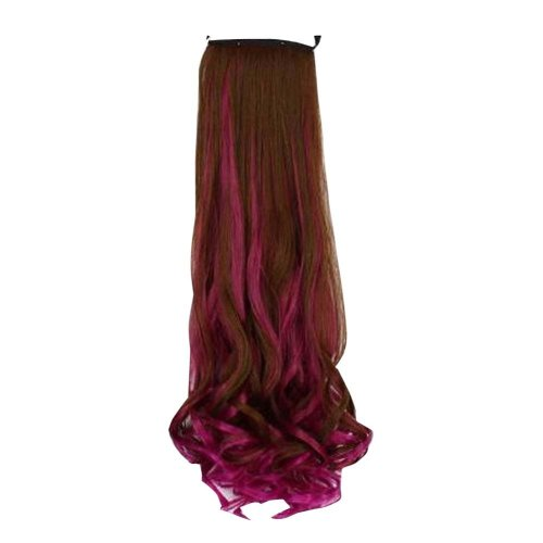Curly Wave Synthetic Hair Extension Hair pieces for Women