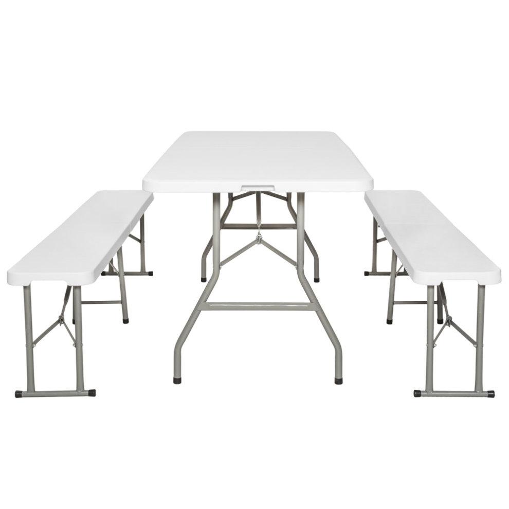 Outwell Brunswick Weatherproof Folding Table Seats 4