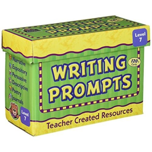 Teacher Created Resources TCR9007 Writing Prompts Card, Grade 7