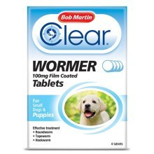 (Puppies, Single) Bob Martin Clear Wormer Tablets For Dogs