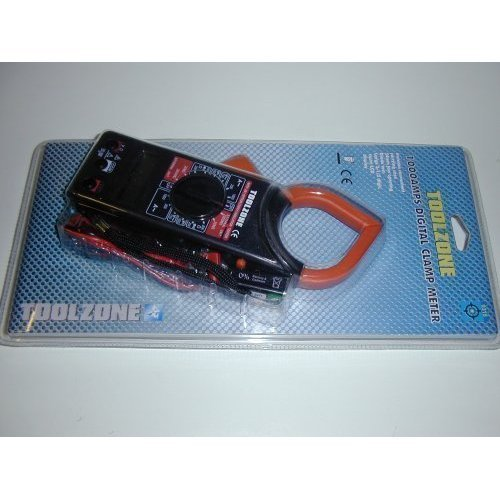 Toolzone 1000amp Clamp On Digital Multimeter