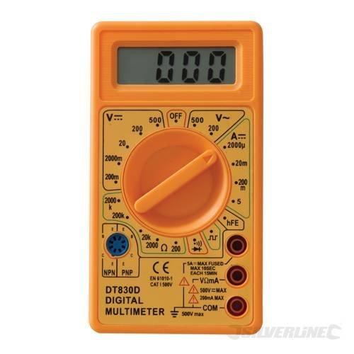 Silverline Ac & Dc Digital Multimeter