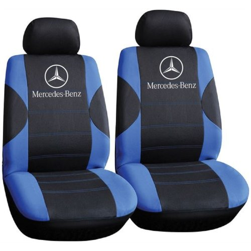 Mercedes-Benz Logo Car Seat Covers, Only Front