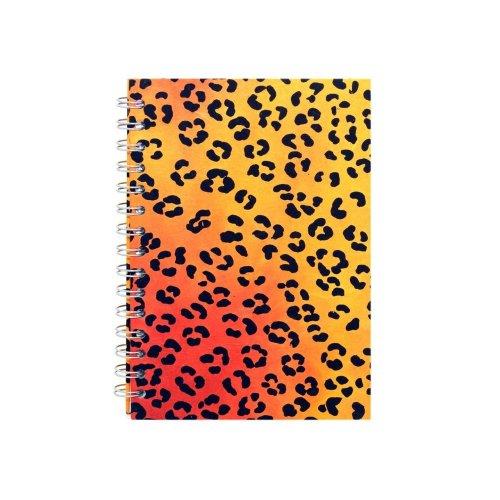 A5 Portrait, Leopard - Posh / Off White / 35