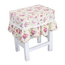 Fashion Canvas Stool Cover Makeup Stool Cover