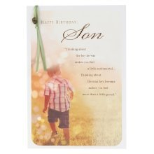 Hallmark Birthday Card for Son 'Proud Of The Man You've Become' - Medium