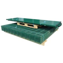 vidaXL 2D Garden Fence Panels & Posts 2008x1230 mm 44 m Green