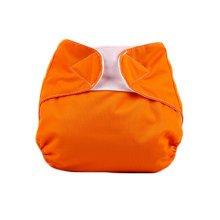 Baby One Size Leak-free Diaper Cover With Magic Tape (3-13KG,Orange)