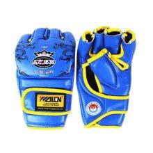 Adult Boxing Gloves Half Finger Gloves/ Fighting/ Training gloves-b