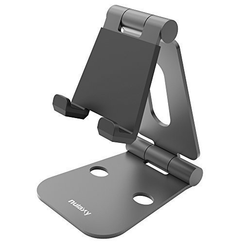Nulaxy Foldable Aluminum Stand Universal Phone Stand Holder