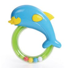 Baby Early Childhood Toys Baby Hand Bell Safety Education Gift (Porpoise)