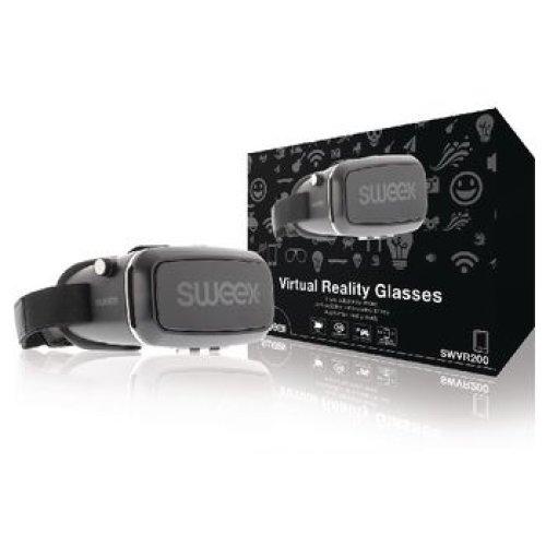 Sweex Virtual-Reality Glasses Black/Silver