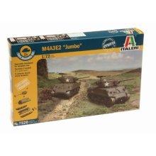 M4A3E2 JUMBO - MILITARY VEHICLES 1:72 FAST ASSEMBLY - Italeri 7520
