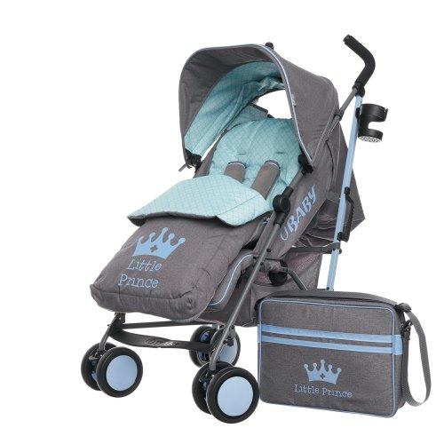 Obaby Zeal Stroller Bundle, Little Prince
