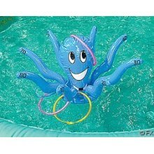 Inflate Octopus Ring Toss Game