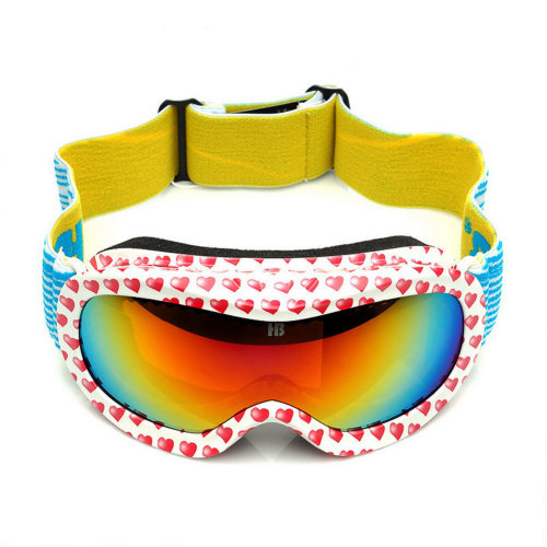 Sweet Heart Goggles Cute Goggles for Kid Snowboard/Ski/Rollerskate Goggles