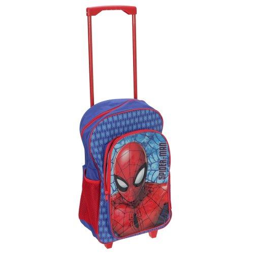 Spider-Man Childrens/Kids Travel Trolley Backpack
