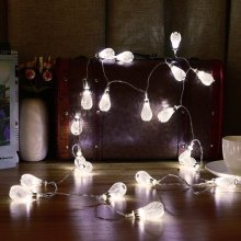 3.3M 20 LED Water Drop String Lights