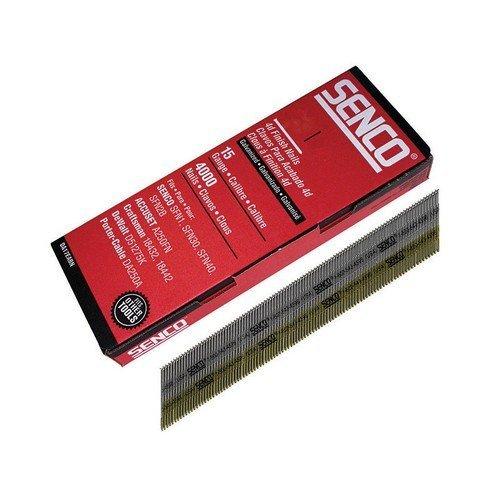Senco DA19EAB Chisel Smooth Brad Nails Galvanised 15G x 44mm Pack of 4,000