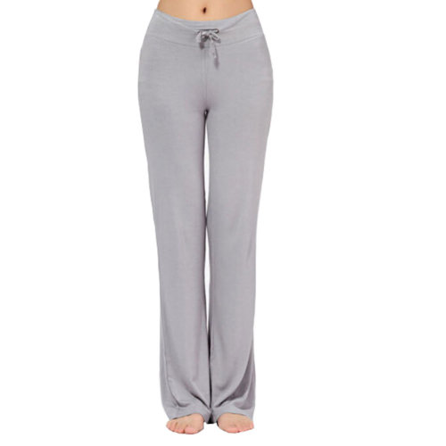 Women Women's Super Soft Modal Yoga Gym Workout Track Lounge Pants?light grey