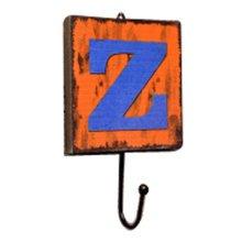 Creative Retro Style Wall Hooks Wood Material Z-shaped Decorative Hook
