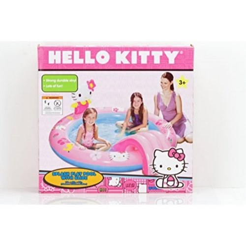 Hello Kitty Splash Play Pool with Slide