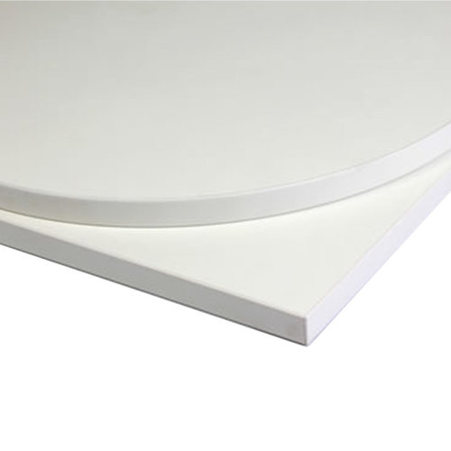 Taybon Laminate Table Top - White Square - 800x800mm